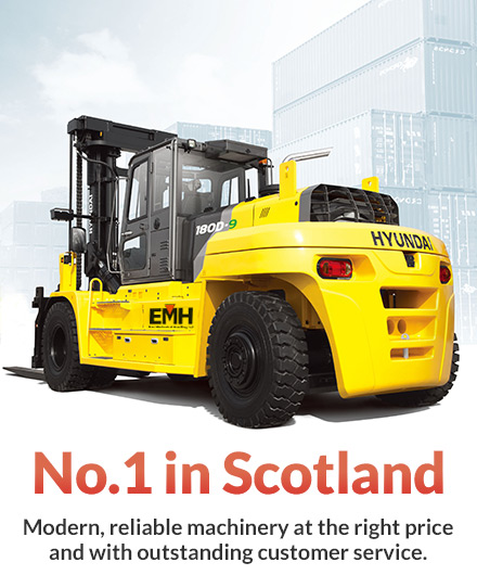 Hire a forklift in Scotland | Long Term Forklift Hire