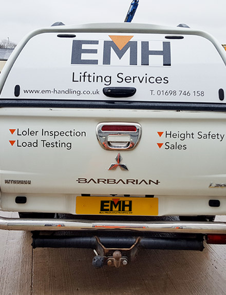 Lifting Equipment Supply, Service, Inspection, Testing and